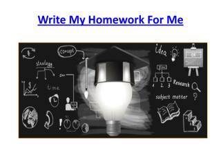 can someone do my homework.pdf
