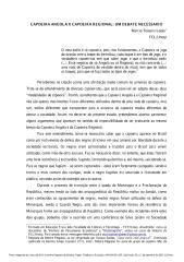 Capoeira angola versus capoeira regional.pdf