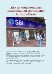 All ATM withdrawals not chargeable, SBI clarifies after furore in Kerala.pdf