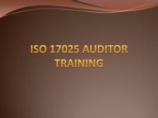 ISO 17025 Auditor Training.pdf