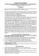 10 semanas de Adoracao & Intercessao pelo BRASIL.doc