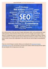 How to Find The Best Search Engine Optimization Services.docx