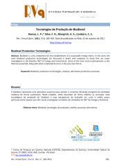 TECNOLOGIAS DE PRODUÇÃO DE BIODIESEL.pdf