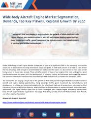 Wide-body Aircraft Engine Market Segmentation, Demands, Top Key Players, Regional Growth By 2022.pdf
