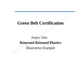 Cardexamplegreen_belt_certification.ppt