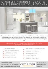 10 WALLET-FRIENDLY IDEAS TO HELP SPRUCE UP YOUR KITCHEN.pdf