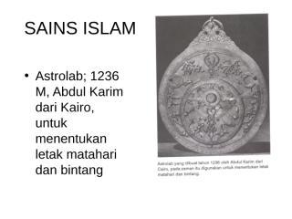 SAINS ISLAM.ppt