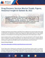 Drug Discovery Services Market Trends, Figures, Analytical Insight & Outlook By 2022.pdf